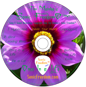 Sonic Freedom Once In a Life EP#3 CD Disc